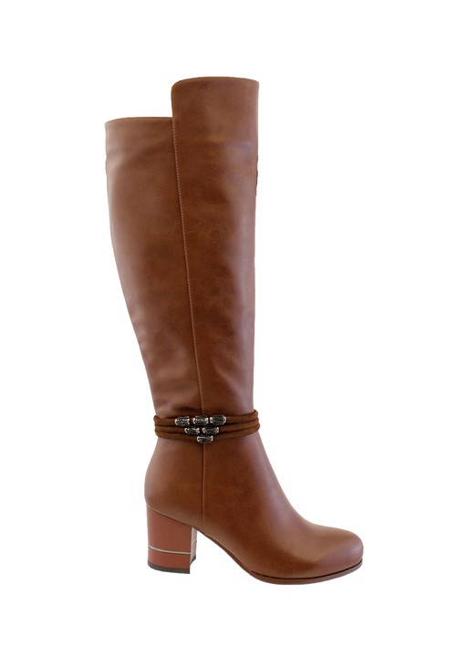 Susst Tan Corey Tall Boot