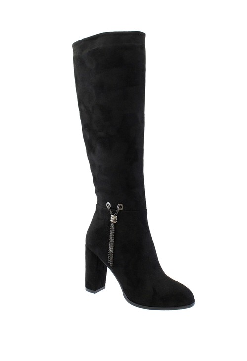 Susst Norma Tall Black Boot