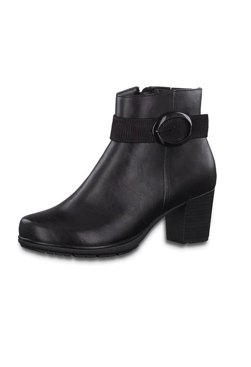 Jana Side Buckle Black Boot