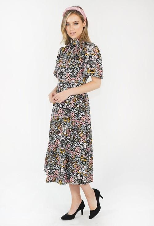 Julia Jord Floral Print Dress