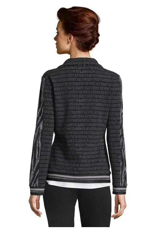 Betty Barclay Printed Zip Up Jacket