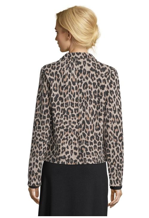Betty Barclay Leopard Print Shirt Jacket