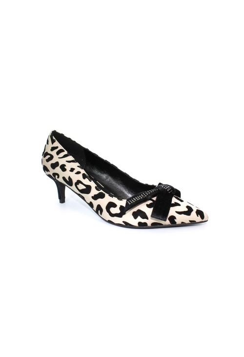 Lunar Leopard Kitten Heel Court