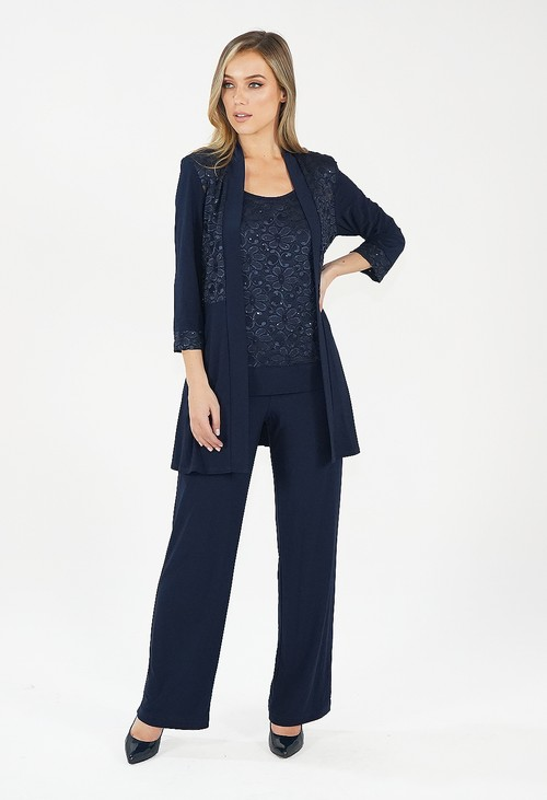 R and M Richard Navy 3 Piece Suit