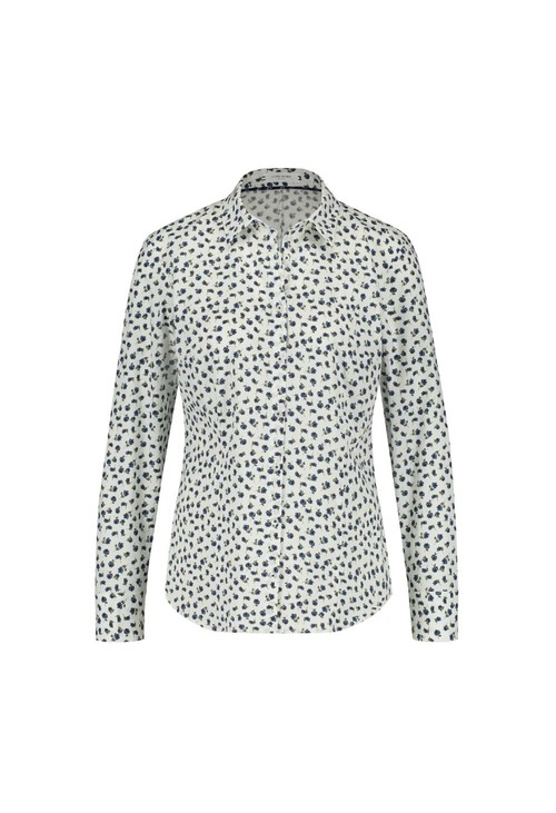 Gerry Weber PETAL PRINT SHIRT WHITE