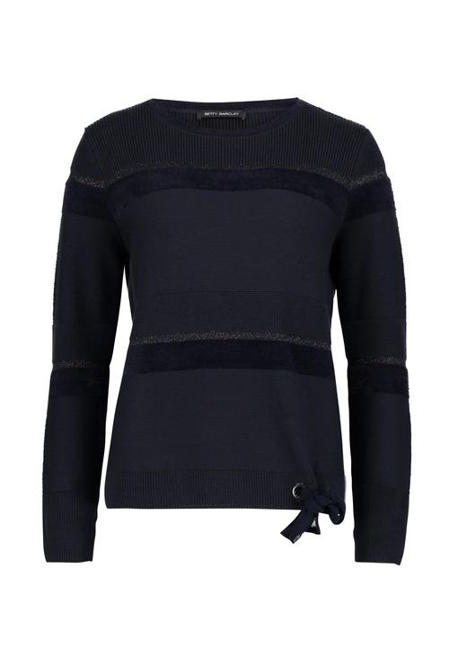 Betty Barclay Lurex Thread Fine Knit Sweater