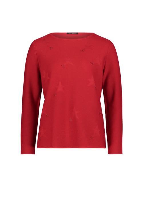 Betty Barclay Rhinestone Detail Fine Knit Sweater