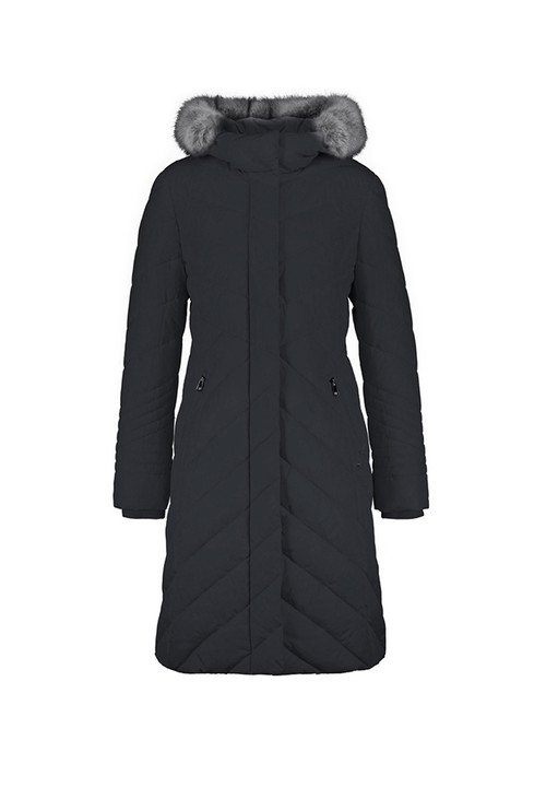 Gerry Weber Navy Longline Padded Coat