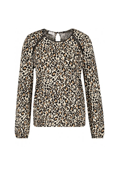 Gerry Weber Leopard Print Long Sleeve Top