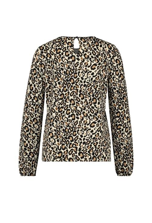 Gerry Weber Leopard Print Long Sleeve Top