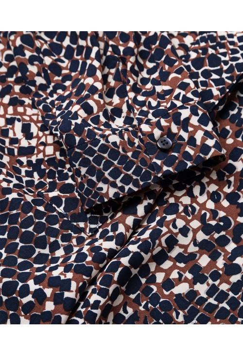 Olsen Snake Print Blouse