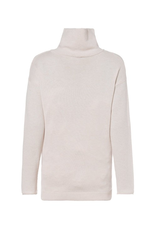 Olsen Turtleneck with Eyelets and Ties