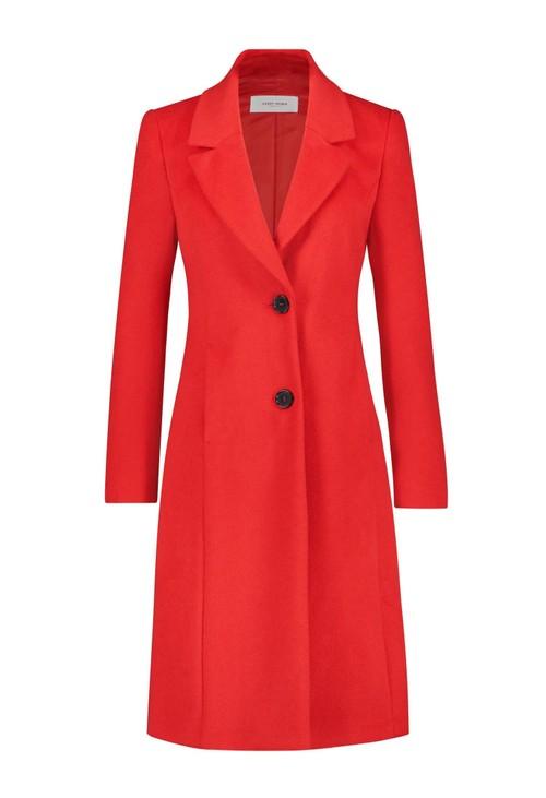 Gerry Weber Red Wool Coat