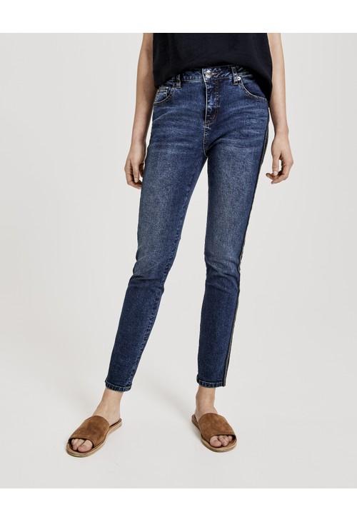 Opus Deep Dark Blue Skinny jeans Evita