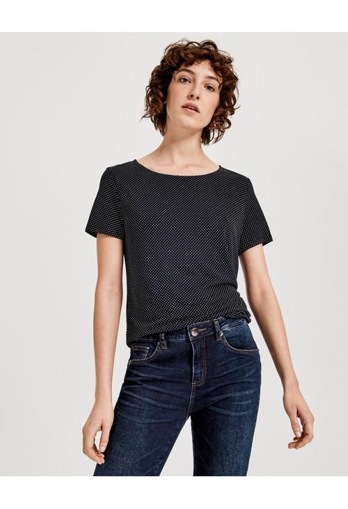 Opus Simple Blue Shirt Sieke