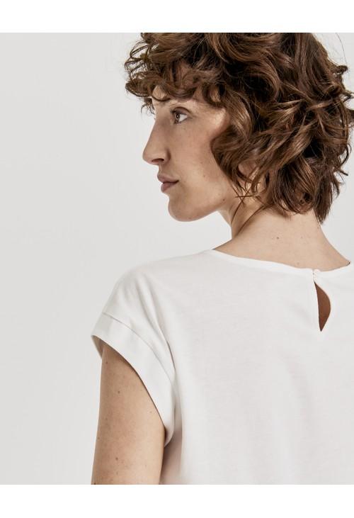 Opus Milk Lace shirt Selisa