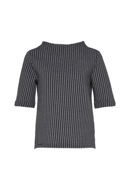 Opus Simple Blue Sweater Gudeni