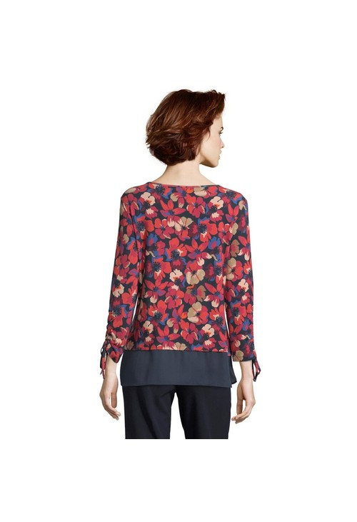 Betty Barclay Tunic Top With Tie Detail