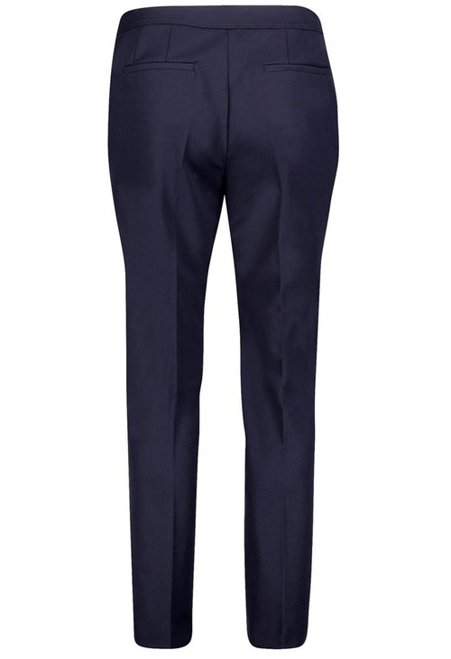 Betty Barclay Navy Trouser With Zip Detail