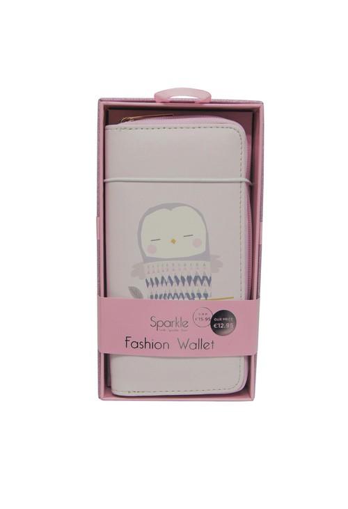 Pulse & Sparkle Pink Owl Wallet