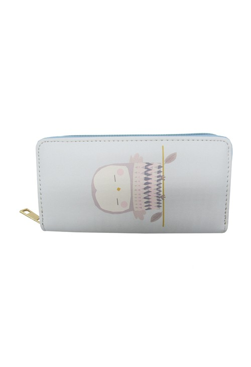Pulse & Sparkle Blue Owl Wallet