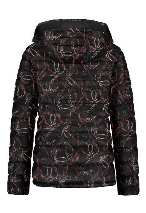 Gerry Weber Quilted Coat With Hood