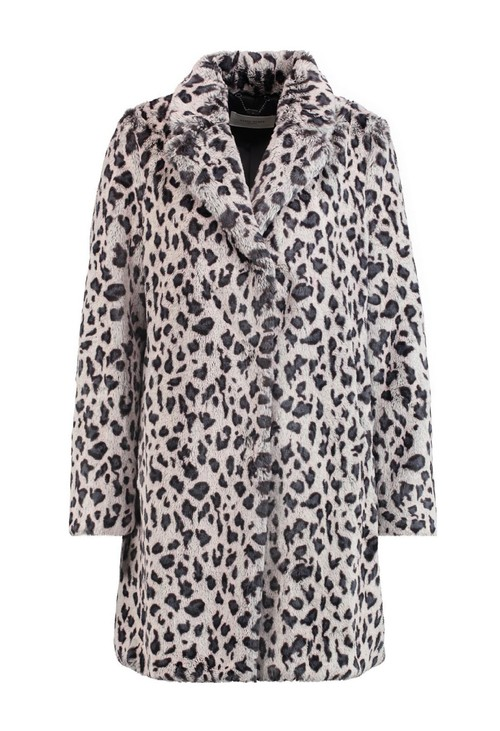 Gerry Weber Soft Animal Print Coat
