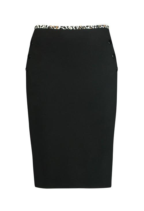 Gerry Weber Leopard Trim Skirt