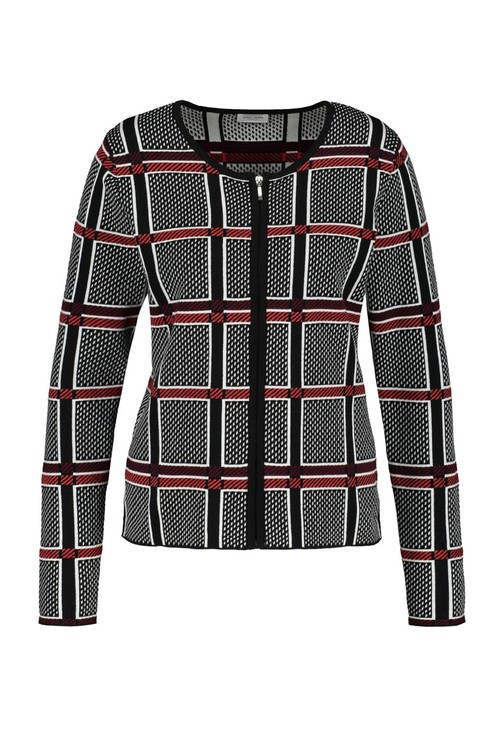Gerry Weber Windowpane Check Jacket