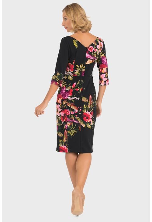 Joseph Ribkoff Floral Print Dress