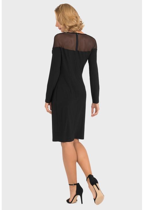 Joseph Ribkoff Sheer Top Dress