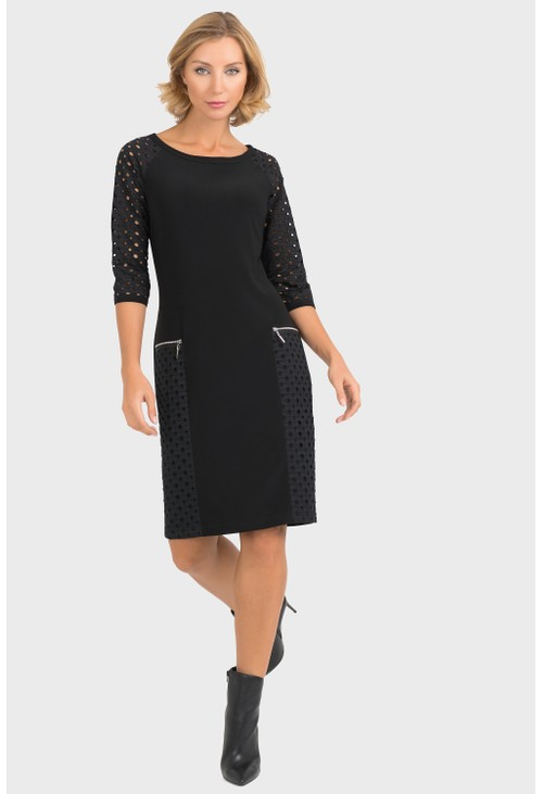 Joseph Ribkoff Textured Dress