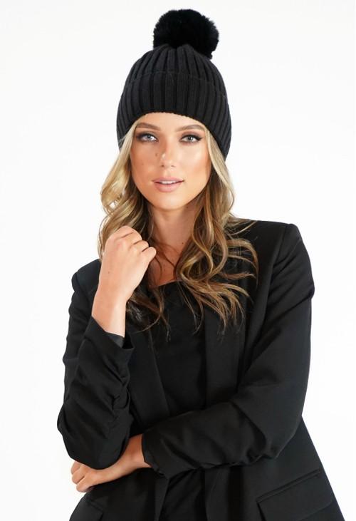 Pamela Scott Bobble Hat