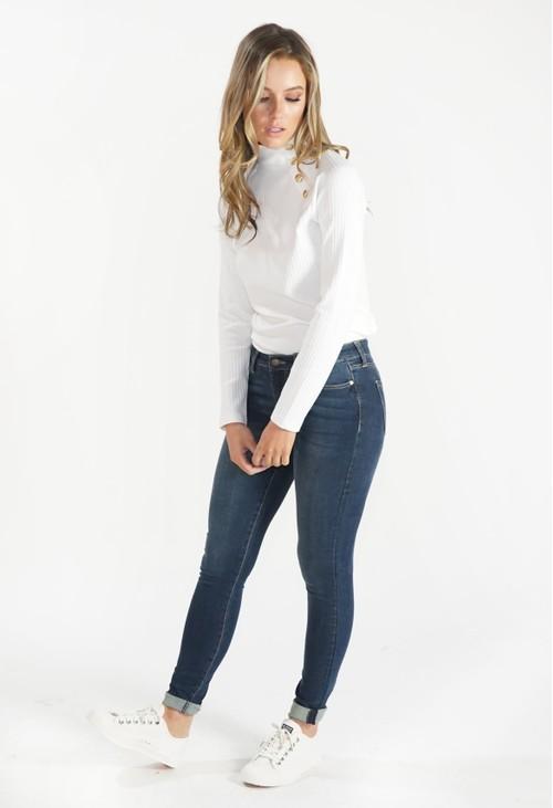 Liverpool Lynx Wash Skinny Jeans