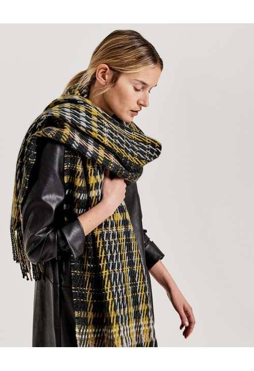 Opus Check Scarf