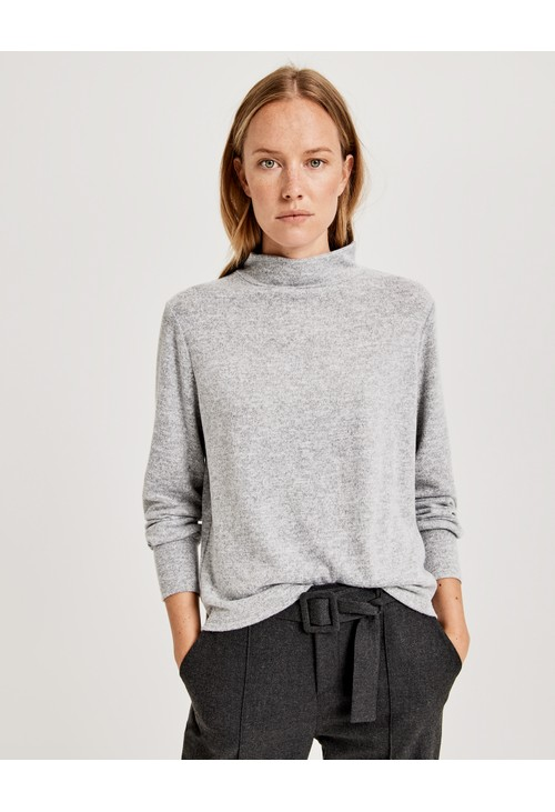 Opus Long Sleeve Turtleneck Top