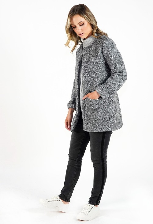 Sophie B Cosy Collarless Jacket