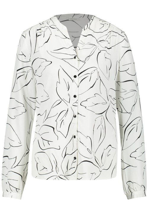 Gerry Weber Open Neck Button Blouse