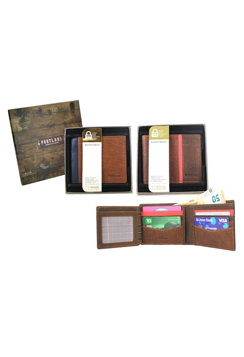 Something Special Mens RFID Protected Leather Wallet
