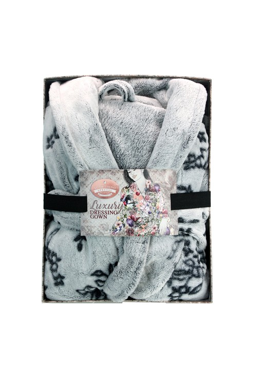 Something Special Floral Dressing Gown