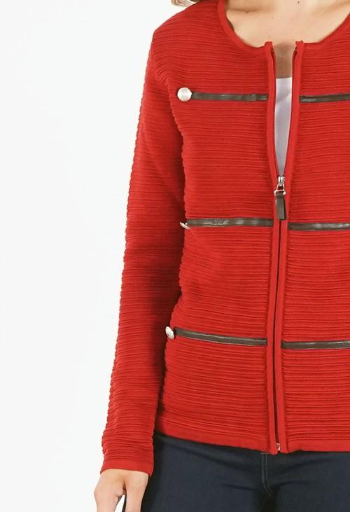 Twist Zip Up Jacket