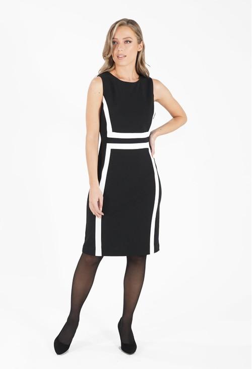 Ronni Nicole Black and White Dress