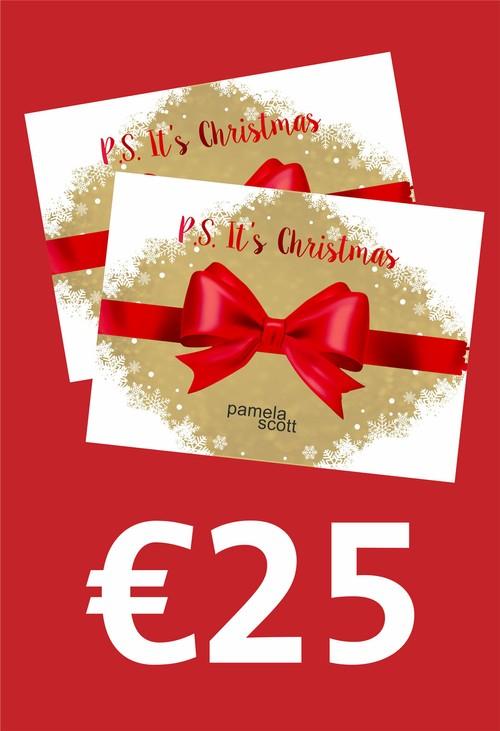 Pamela Scott 25 Euro Gift Voucher