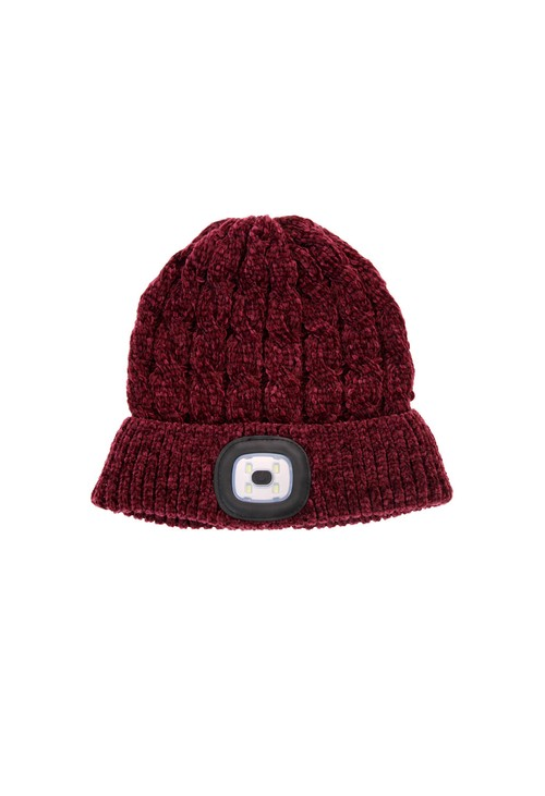 Something Special Mulberry Chenille LED Hat