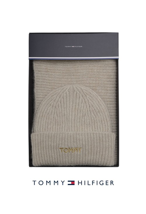 Tommy Hilfiger Effortless Scarf and Beanie
