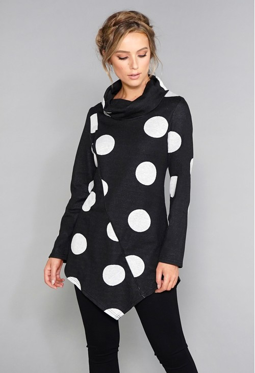 Stella Morgan Polka Dot Knit