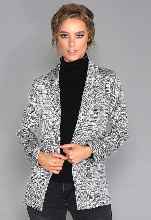 Stella Morgan Check Blazer