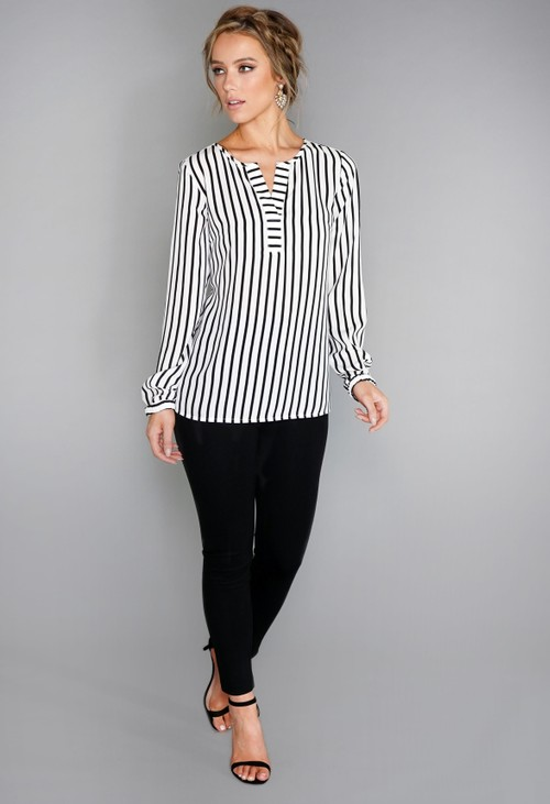 Betty Barclay Striped Blouse