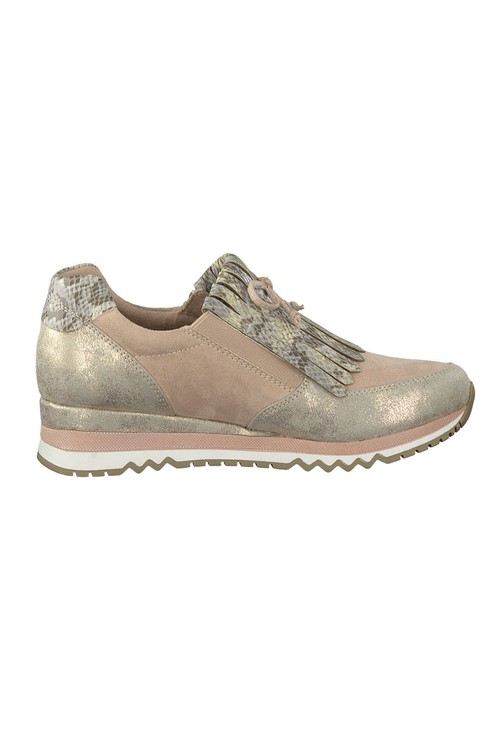 Marco Tozzi Rose Coloured Trainer