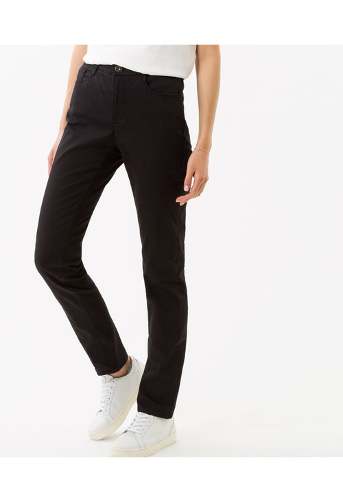 Brax Black Five-Pocket Trousers
